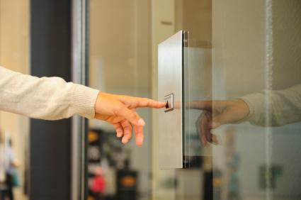 Pushing-Elevator-Button